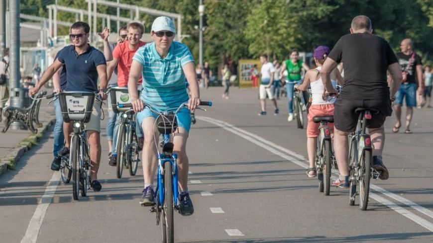 В российской столице 8июля пройдет третий ночной велопарад