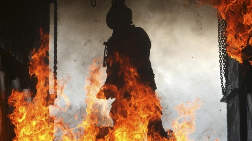 Ввосточной части Лондона вжилом доме произошел пожар