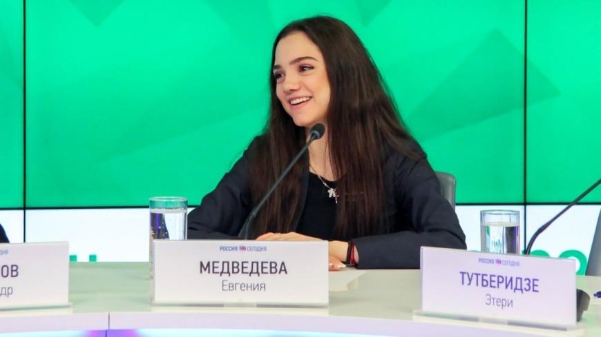 Фигуристка Евгения Медведева дебютировала как художник