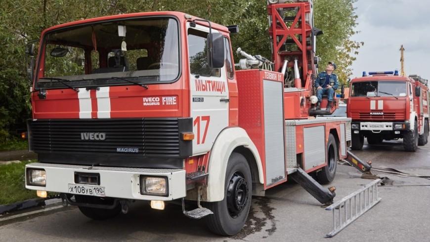 Оставленные без присмотра двое детей погибли на пожаре в Подмосковье