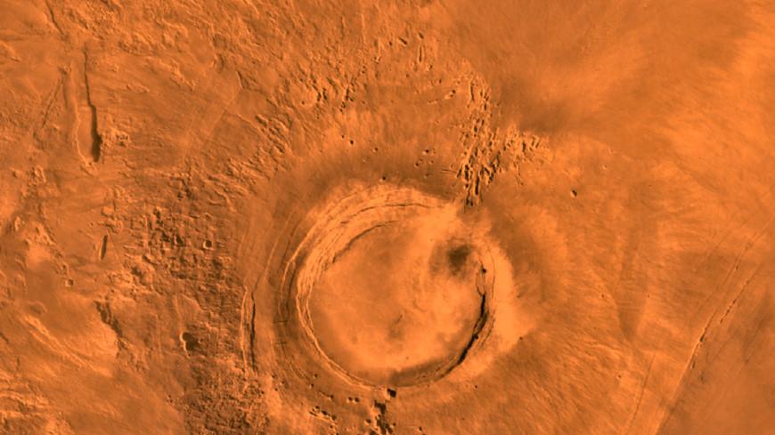 Curiosity сфотографировал на Марсе идеальный каменный круг