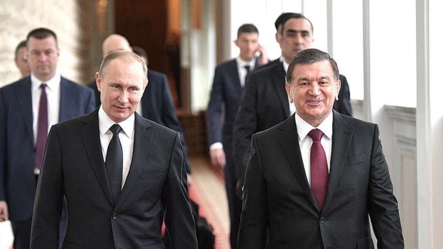Путин принял приглашение Мирзиеева посетить Узбекистан