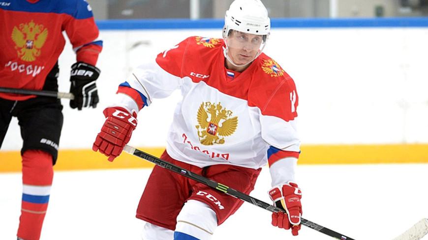 Путин: Больше люблю хоккей, но футбол тоже красивая игра