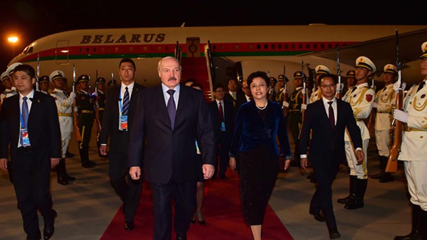 Лукашенко привез сына Колю на международный форум в Пекин