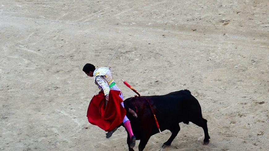 В Испании бык убил тореадора впервые за три десятилетия