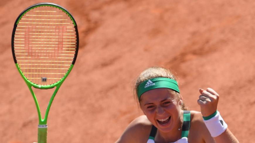 Теннисистка из Латвии впервые выиграла турнир «Большого шлема»