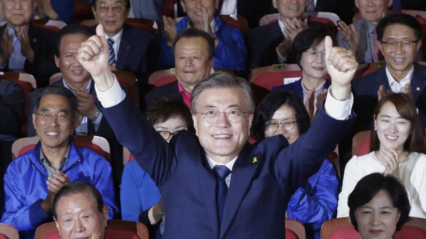 Exit poll: Президентом Южной Кореи станет демократ Мун Чжэ Ин