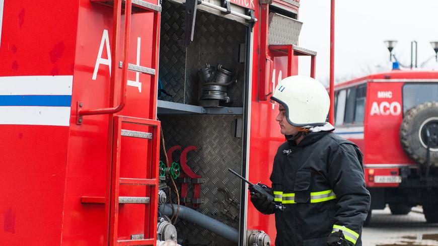 Пожар на складе с боеприпасами в Харьковской области потушили
