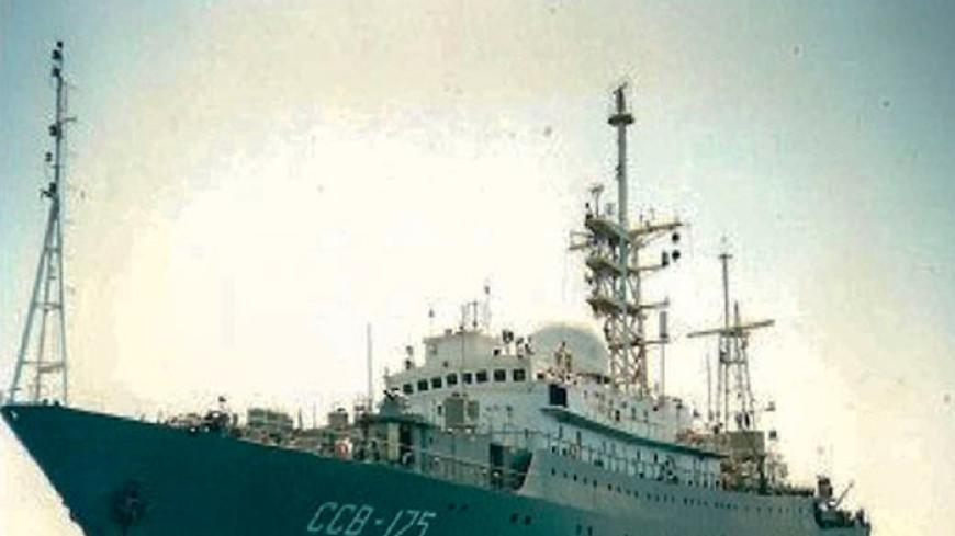 У берегов США заметили российский корабль-разведчик «Виктор Леонов»