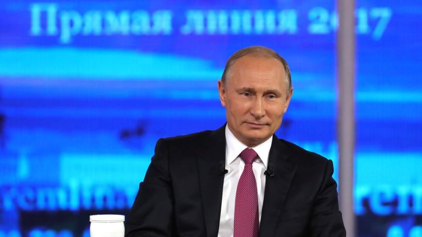 Путин о «Прямой линии»: Не узнал ничего революционного