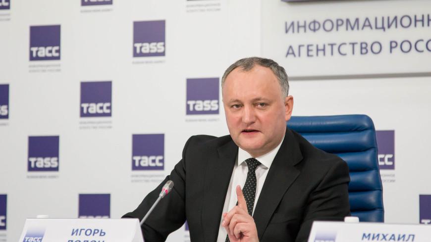 Додон рассказал, когда Молдова станет наблюдателем в ЕАЭС