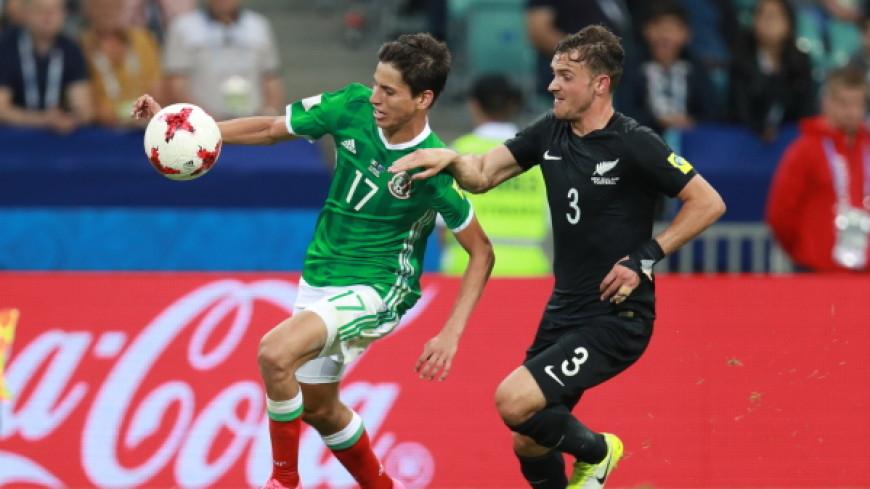 Мексика одержала волевую победу над Новой Зеландией