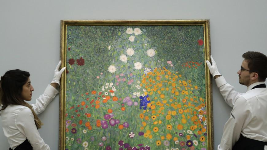 Очередной рекорд: «Цветочный сад» Климта продан за £48 млн