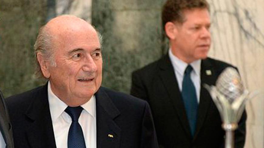 Блаттер объявил об уходе с поста главы ФИФА