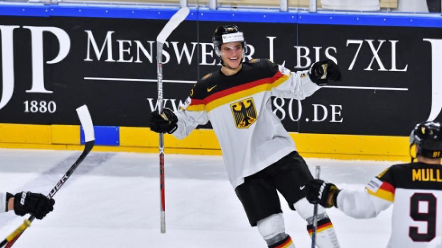 Сборная Германии вышла в плей-офф ЧМ по хоккею