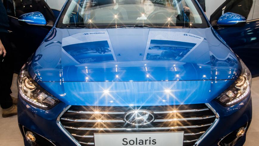 Hyundai Solaris стал самым угоняемым автомобилем в России