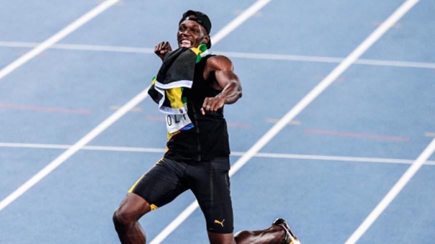 Усэйн Болт выиграл свой последний забег на Ямайке