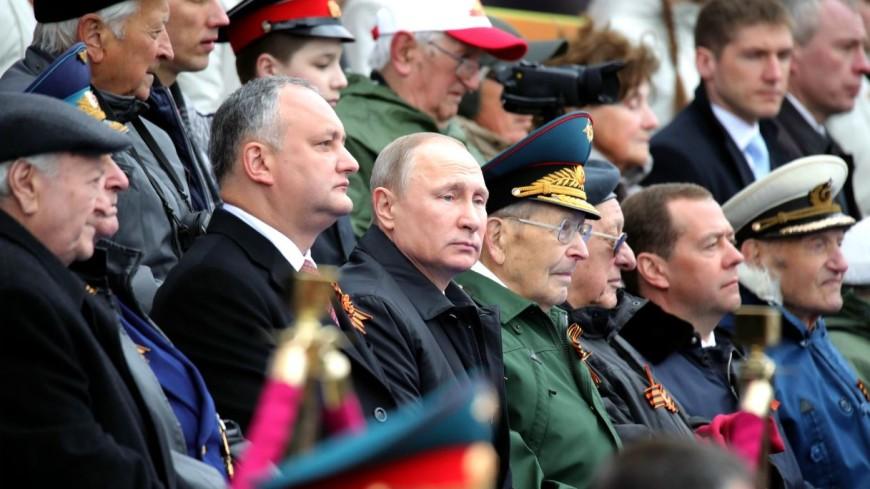 Президент Молдовы впервые за 15 лет приехал на парад в Москве