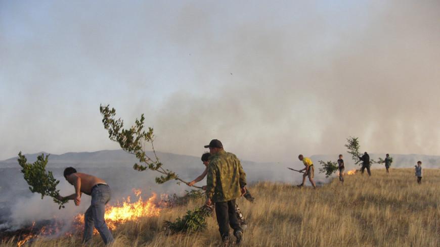Природные пожары в Бурятии охватили 5 тысяч гектаров леса