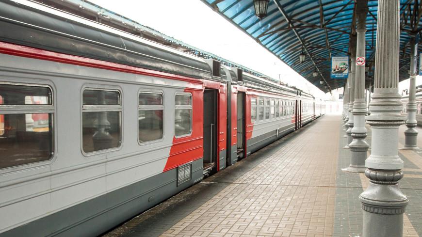 В Москве электричка насмерть сбила мужчину