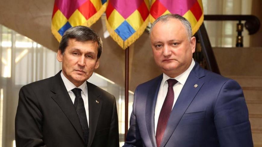 Президент Молдовы встретился с делегацией Туркменистана