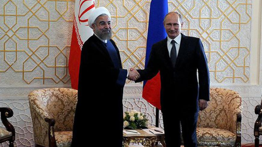 Путин поздравил Рухани с победой на выборах