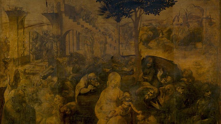 «Поклонение волхвов» Да Винчи реставрировали шесть лет