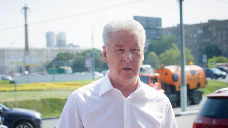 Собянин пообещал достроить четыре развязки на МКАД к концу 2014 года