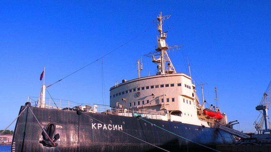 Легендарному ледоколу «Красин» - 100 лет