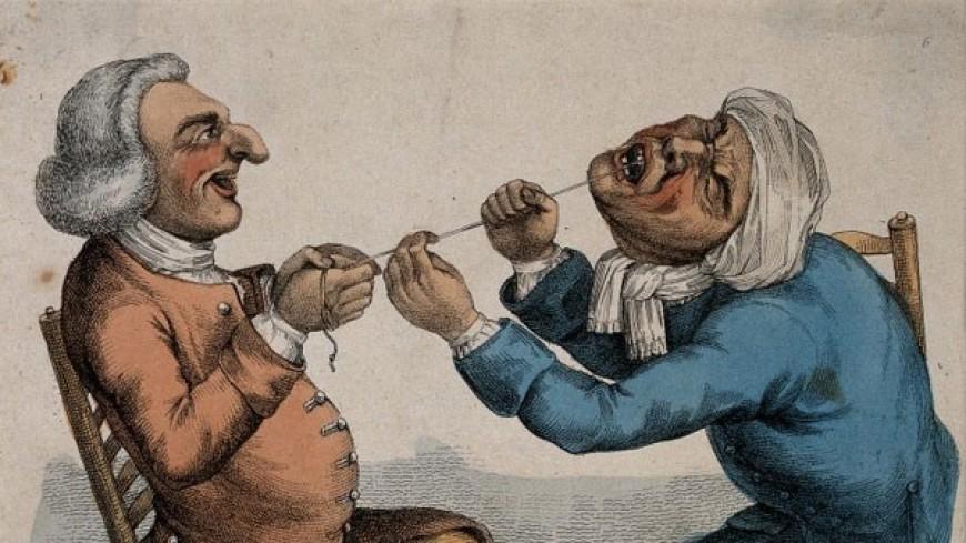 Изобретательная стоматология: как лечили зубы наши предки