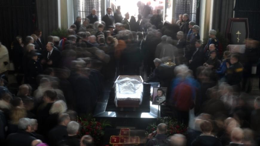 Георгия Гречко похоронили на Троекуровском кладбище