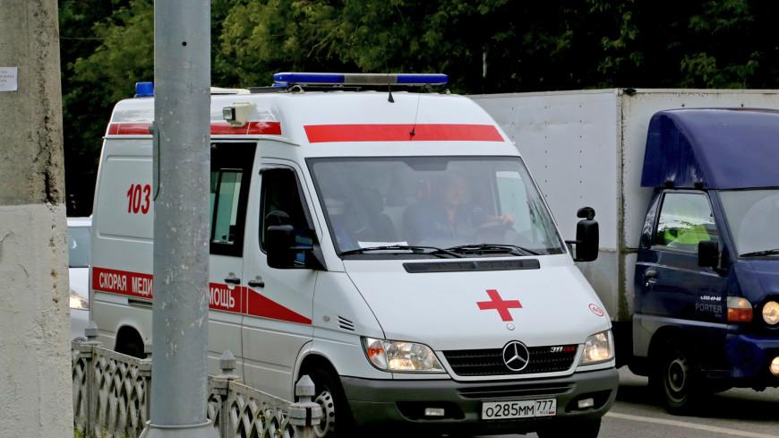 В Москве автобус задавил женщину, пятясь задом