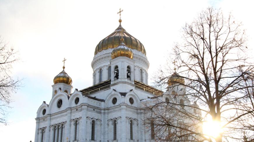 В Москву доставили Смоленскую икону Богородицы