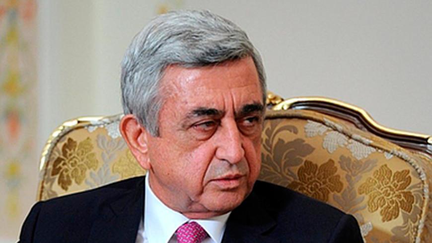 Саргсян посетил армянскую общину и церковь в США