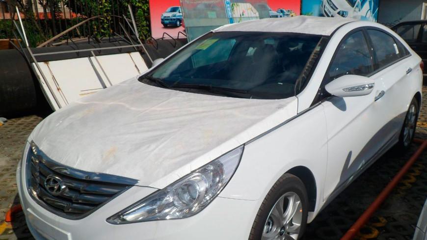Hyundai Sonata вернется в Россию в сентябре
