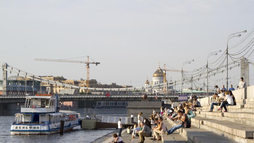 В Москве сохранится аномальная для августа жара