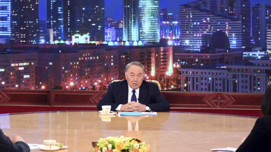 О чем «МИР» спросил Назарбаева