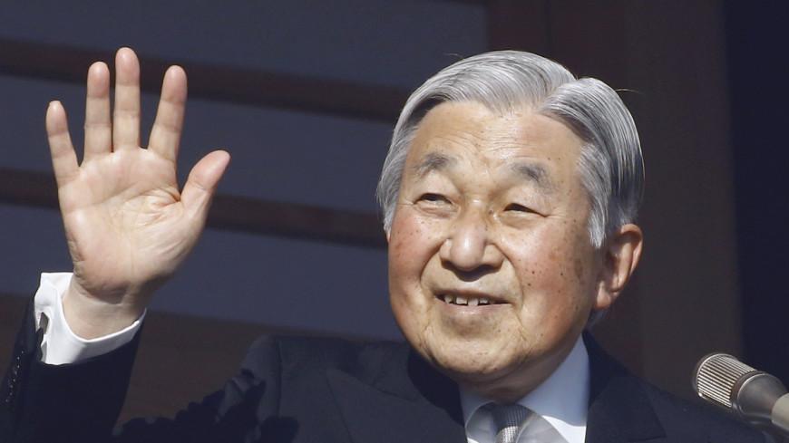 Цветущая сакура выманила императора Японии из дворца
