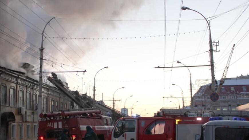 Пожар в детской больнице Твери локализован