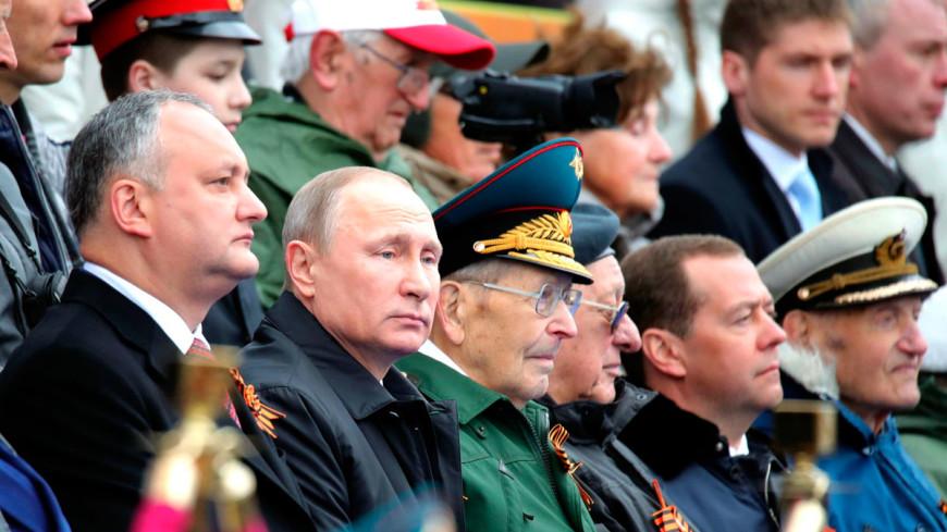 Додон: Представлять Молдову на параде Победы - честь для меня