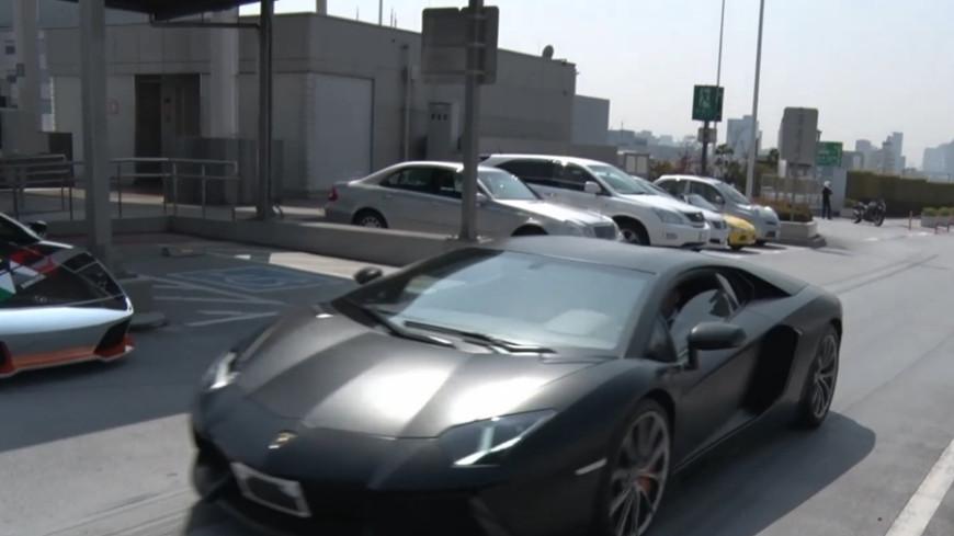 Ради искусства: в Дании изуродовали Lamborghini за $170 тысяч