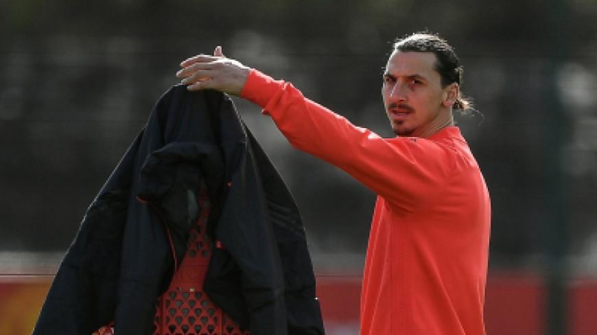 Ибрагимович провел первую тренировку после травмы