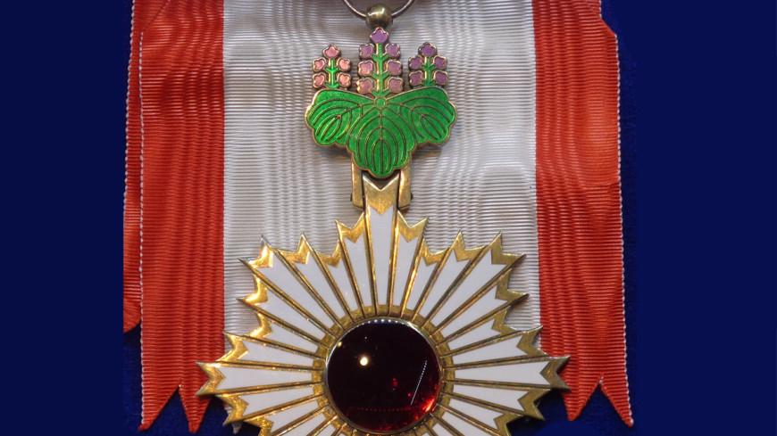 Япония наградила шесть россиян Орденом Восходящего солнца