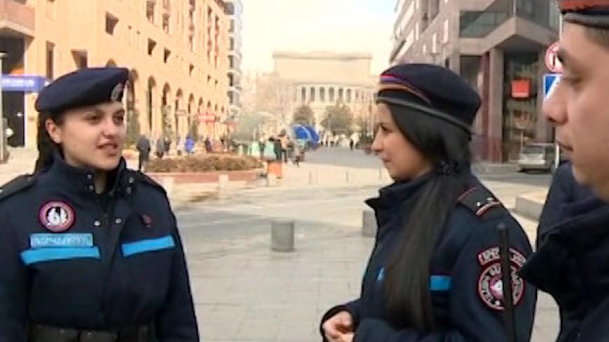 Полиция в Армении: один день на службе в отряде ангелов