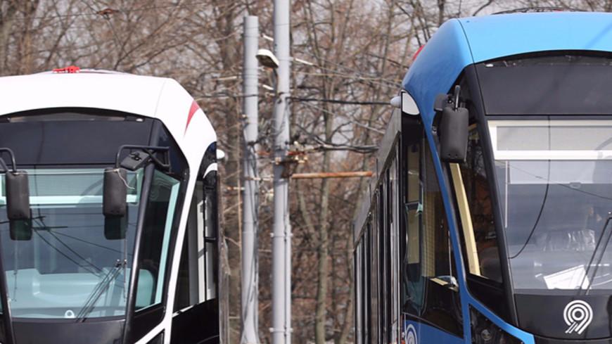 Богатырь из будущего: в Москве появились новые трамваи