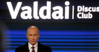 Путин на «Валдае»: груз недоверия, мифы о России и планы на пенсию