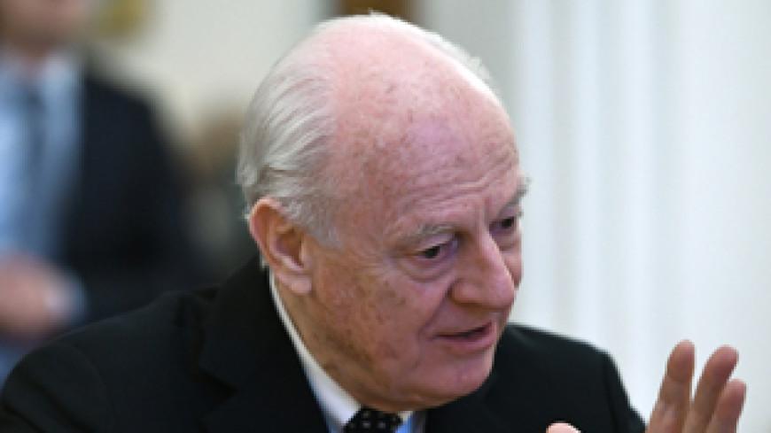 Де Мистура отметил активность России на переговорах в Женеве