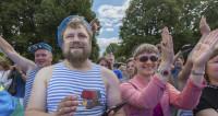 Ульяновск в один день отметил праздники десантников и моряков
