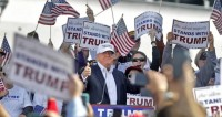 СМИ оценили шансы на победу Трампа в 79%