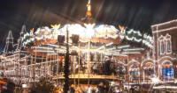 Москва превратилась в новогоднюю карусель